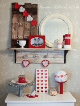 Beautiful Home Interior Design Ideas With The Concept Of Valentines Day29