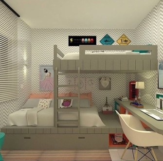 Charming Bedroom Designs Ideas That Will Inspire Your Kids34