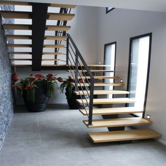 Classy Indoor Home Stairs Design Ideas For Home09