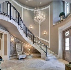 Classy Indoor Home Stairs Design Ideas For Home11
