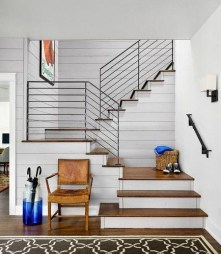 Classy Indoor Home Stairs Design Ideas For Home34