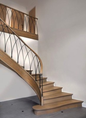 Classy Indoor Home Stairs Design Ideas For Home39