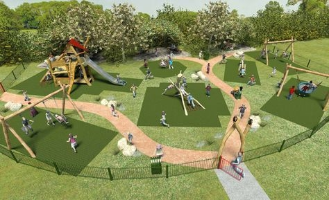 Cool Childrens Playground Design Ideas For Home Garden14
