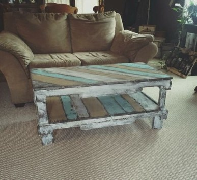Fantastic Diy Projects Mini Pallet Coffee Table Design Ideas29