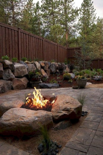 Inspiring Outdoor Fire Pit Design Ideas To Try42