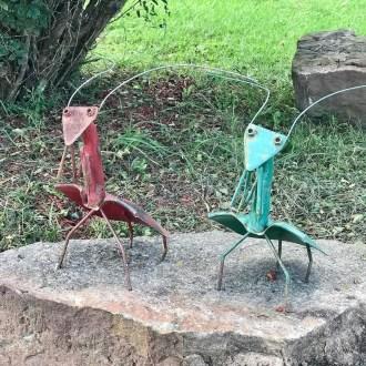 Inspiring Outdoor Metal Design Ideas For Garden Art You Must Try30