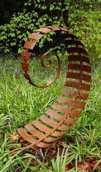 Inspiring Outdoor Metal Design Ideas For Garden Art You Must Try41