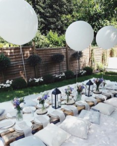 Magnificient Outdoor Summer Decorations Ideas For Party23