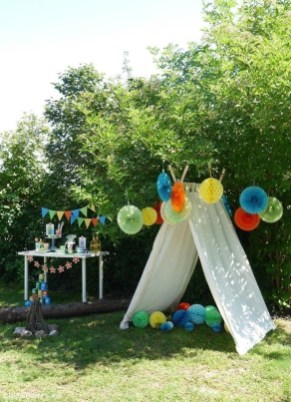 Magnificient Outdoor Summer Decorations Ideas For Party24