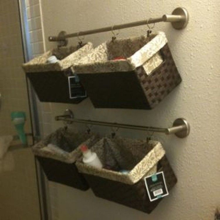 Marvelous Bathroom Storage Solutions Ideas To Copy Now45
