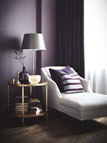 Modern Living Room Ideas With Purple Color Schemes05
