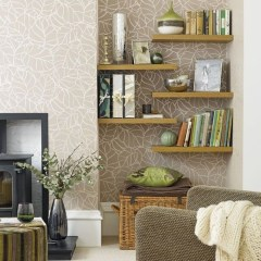 Newest Corner Shelves Design Ideas For Home Decor Looks Beautiful13