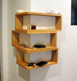 Newest Corner Shelves Design Ideas For Home Decor Looks Beautiful31