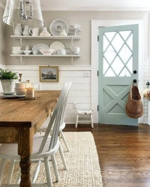 Outstanding Farmhouse Dining Room Design Ideas To Try09