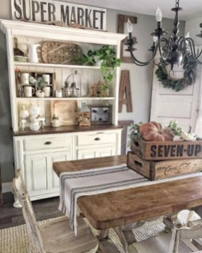 Outstanding Farmhouse Dining Room Design Ideas To Try26
