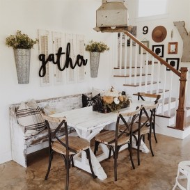 Outstanding Farmhouse Dining Room Design Ideas To Try36