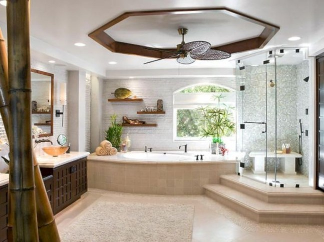 Rustic Bathroom Designs Ideas For Fall To Try17