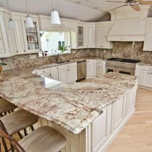 Admiring Granite Kitchen Countertops Ideas That You Shouldnt Miss33