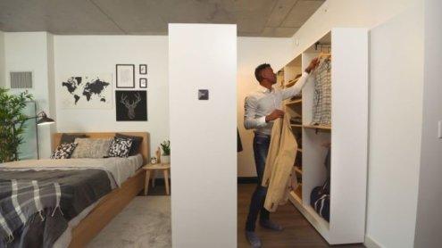 Best Minimalist Walk Closets Design Ideas For You18