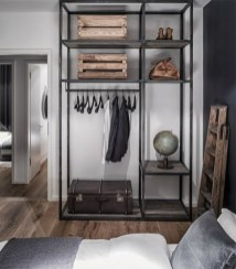 Best Minimalist Walk Closets Design Ideas For You23