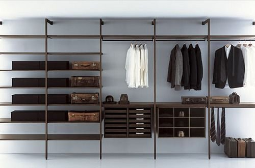 Best Minimalist Walk Closets Design Ideas For You35