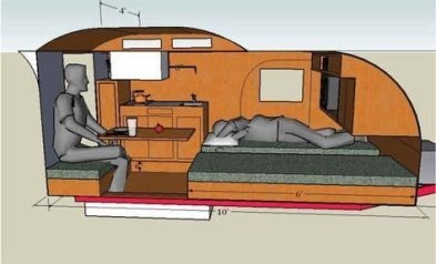 Best Tvan Camper Hybrid Trailer Gallery Ideas14