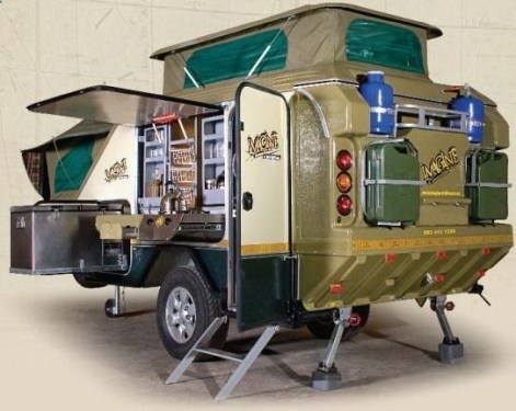 Best Tvan Camper Hybrid Trailer Gallery Ideas16