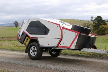 Best Tvan Camper Hybrid Trailer Gallery Ideas30