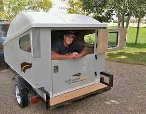 Best Tvan Camper Hybrid Trailer Gallery Ideas32