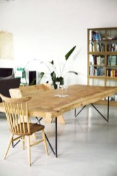 Charming Diy Wooden Dining Table Design Ideas For You04