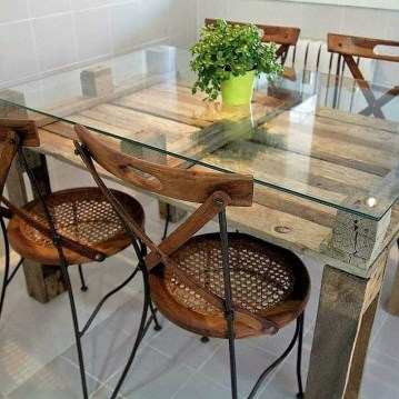 Charming Diy Wooden Dining Table Design Ideas For You15