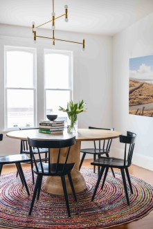 Charming Diy Wooden Dining Table Design Ideas For You24