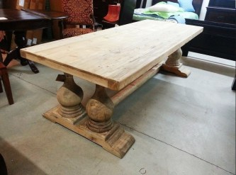 Charming Diy Wooden Dining Table Design Ideas For You38