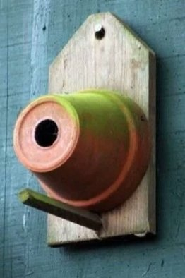 Elegant Bird House Ideas For Your Backyard Space06