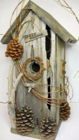 Elegant Bird House Ideas For Your Backyard Space14