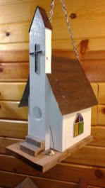 Elegant Bird House Ideas For Your Backyard Space34