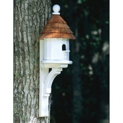 Elegant Bird House Ideas For Your Backyard Space39