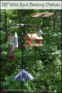 Magnificient Stand Bird House Ideas For Garden04