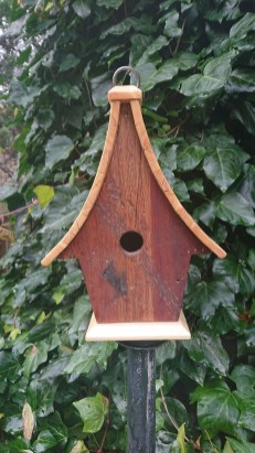 Magnificient Stand Bird House Ideas For Garden06