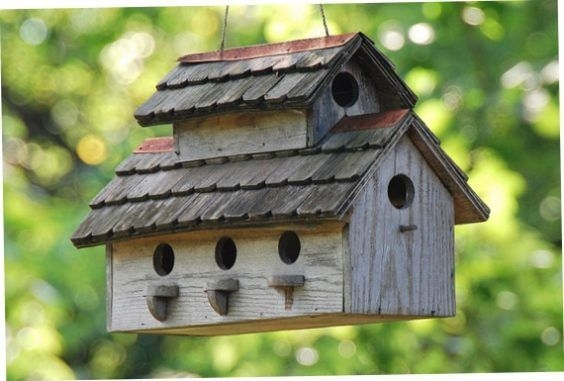 Magnificient Stand Bird House Ideas For Garden47