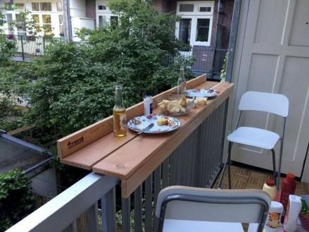 Popular Small Apartment Balcony Decor Ideas For You35