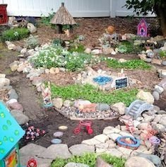 Pretty Fairy Garden Design Ideas To Try26