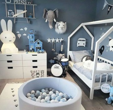 Relaxing Kids Room Designs Ideas That Strike With Warmth And Comfort32