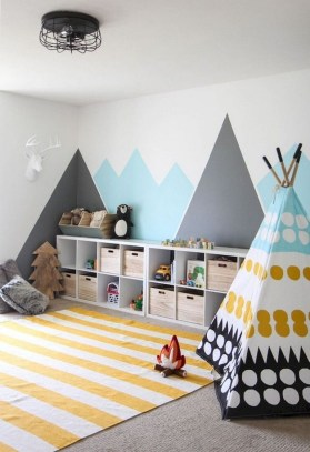 Relaxing Kids Room Designs Ideas That Strike With Warmth And Comfort36