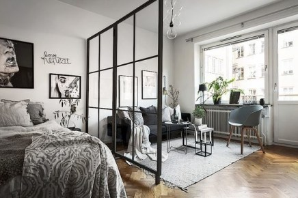 Splendid Studio Apartment Decorating Ideas That Looks Cool02