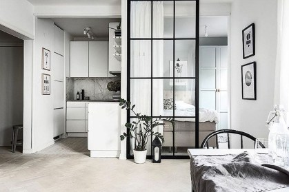 Splendid Studio Apartment Decorating Ideas That Looks Cool06