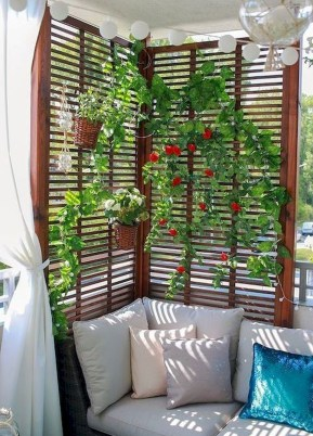 Superb Apartment Balcony Decorating Ideas To Try25