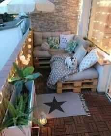 Superb Apartment Balcony Decorating Ideas To Try31