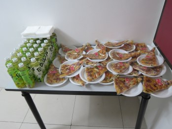 The food waits at iLEAD.