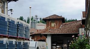Inside the Menabrea brewery in Biella